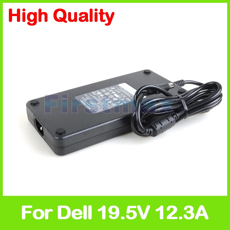 Slim 19.5V 12.3A laptop AC adapter charger for Dell Precision 17 7710 XPS M1730 M1730N ADP-240AB D C3MFM FHMD4 GA240PE1-00 19 5v 12 3a 240w pa 9e family laptop adapter for dell alienware m17x 0j938h adp 240ab d fwcrc j938h ga240pe1 00 ac power supply