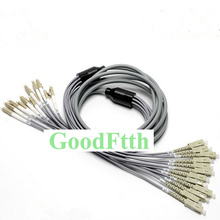 цена на Armoured armored Patch Cord SC-LC LC-SC Multimode 50/125 OM2 12 Cores GoodFtth 3-25m