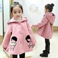 3 4 5 6 7 8 9 10 11 Años de Bebé chaqueta Otoño Invierno Abrigo Y Chaquetas Chicas Chicas Ropa Niños Outwear