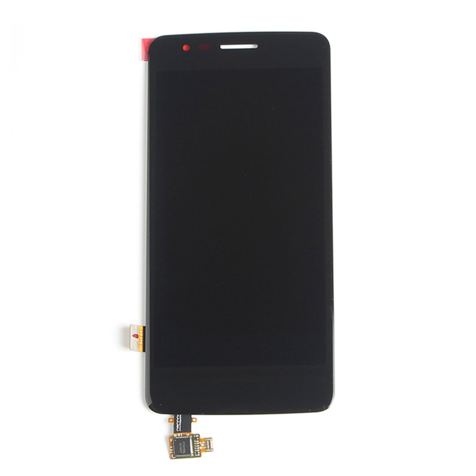 Original <font><b>LCD</b></font> For <font><b>LG</b></font> K8 2017 <font><b>X240</b></font> <font><b>LCD</b></font> Display Touch Screen Digitizer with Bezel Frame Full Assembly Black White Free shipping image