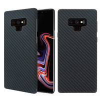 For Samsung Galaxy Note 9 10 10 Plus Cases Ultra Thin Aramid Fiber Cover Matte Carbon Fiber Pattern for Samsung Note 9 10+ Case