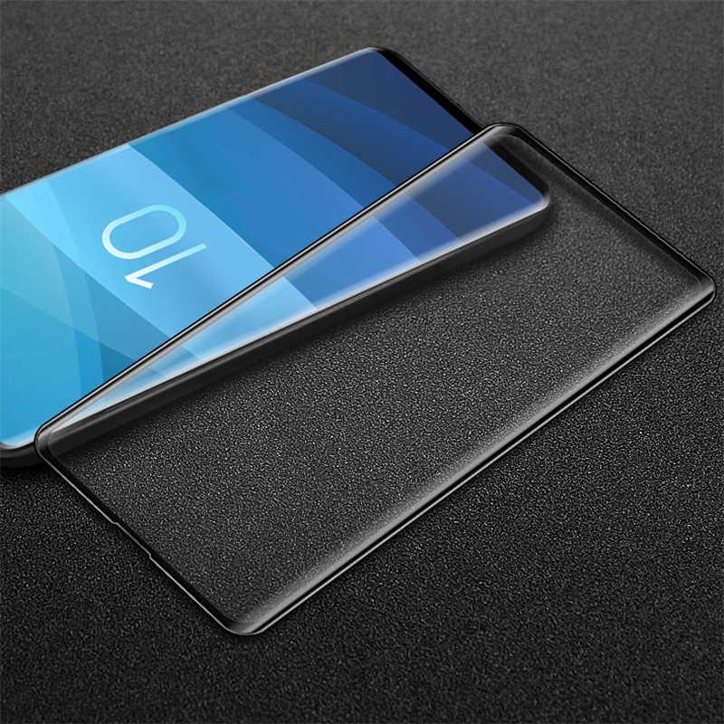 100% ضمان الجودة ثلاثية الأبعاد الزجاج المقسى لسامسونج غالاكسي S10 Edge S10 واقي للشاشة 100% اختبارها