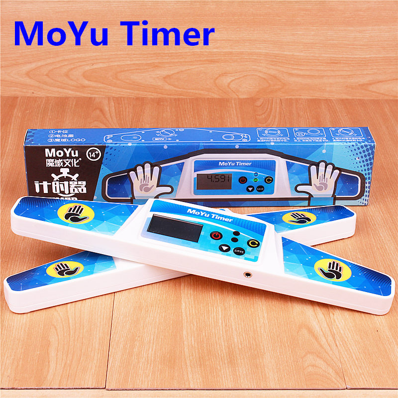 Moyu Puzzle Speed Cube Timer High Speed Timer Professional Clock Machine For Magic Cubes Sport Stacking For Competition