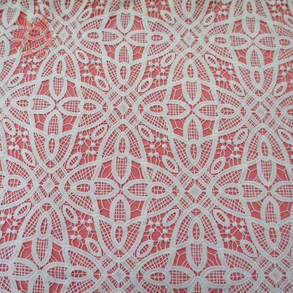 Sữa sợi tắt trắng ren vải, retrostyle cutout vải ren cho trang phục/quần áo với chiều rộng 110 cm miễn phí vận chuyển SP122