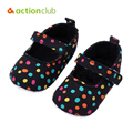 New Baby Shoes Colorful Dot First Walkers Cotton Baby Girl Boy Shoes Soft Sole Newborn Footwear Sneakers Baby Moccasins
