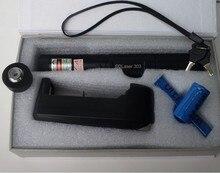 цена на AAA Military 100000m green laser pointers 532nm SOS LAZER flashlight burning match,burn cigarettes+Charger+Gift Box sd laser 303
