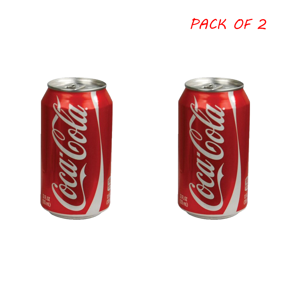 (Pack Of 2)Stash Safe Can Diversion Box Made By Real Cola Can/Can Color Will Be Shipped By Random