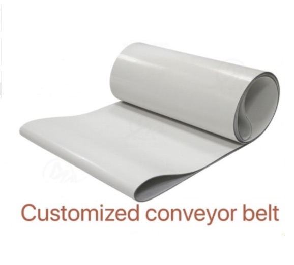(Customized Conveyor belt ) 1000x200x3mm PVC White Transmission Conveyor Belt Industrial Belt(Customized Conveyor belt ) 1000x200x3mm PVC White Transmission Conveyor Belt Industrial Belt