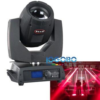 סיטונאי DMX שלב ראש Sharpy Beam 200 W אורות ראש מטלטלין מראה אפקט תאורה עם מנורת UHP, 4 יח'\חבילה, משלוח חינם מהיר-בתאורה מקצועית מתוך פנסים ותאורה באתר