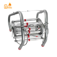 Может загрузить 700 кг 10 метров складное алюминиевое пожарная Спасательная Лестница