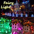 10M Outdoor Wedding Party Lamp 100 LED String Light Waterproof Led Fairy Light For Garden Decoration AC220V EU Plug