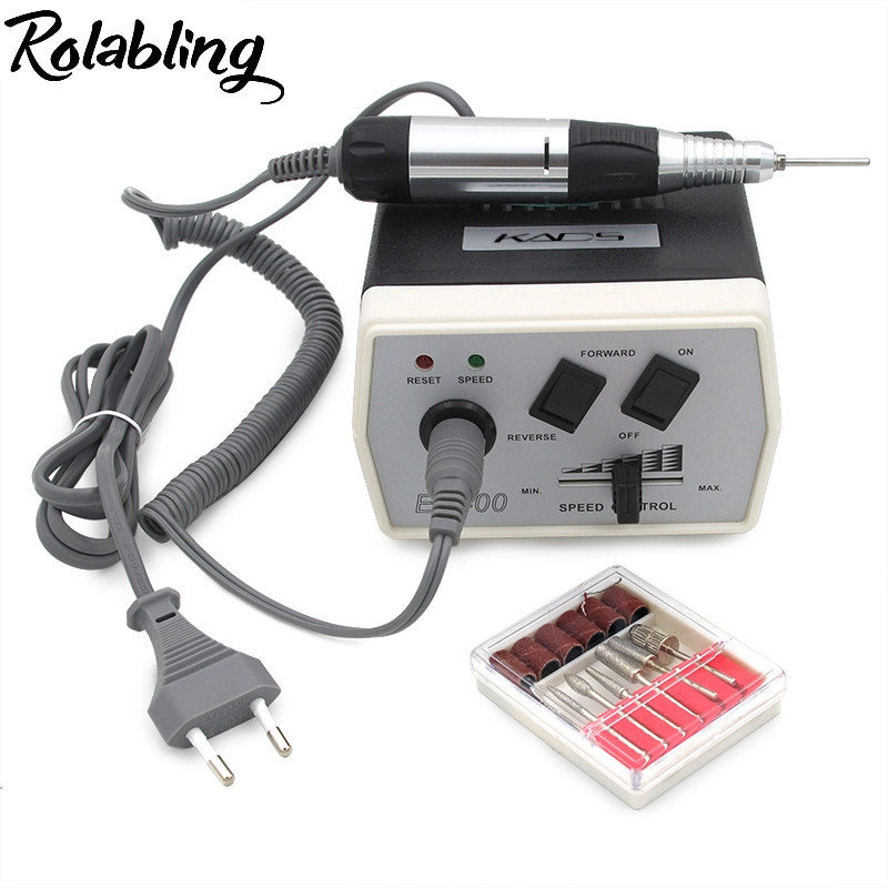 30000RPM Pro Electric Nail Drill Machine Pedicure Manicure Kits File Drill Bits Sanding Band Accessory Nail Salon Nail Art Tools white nail tools electric nail drill machine 30000rpm nail art equipment manicure kit nail file drill bit sanding band accessory