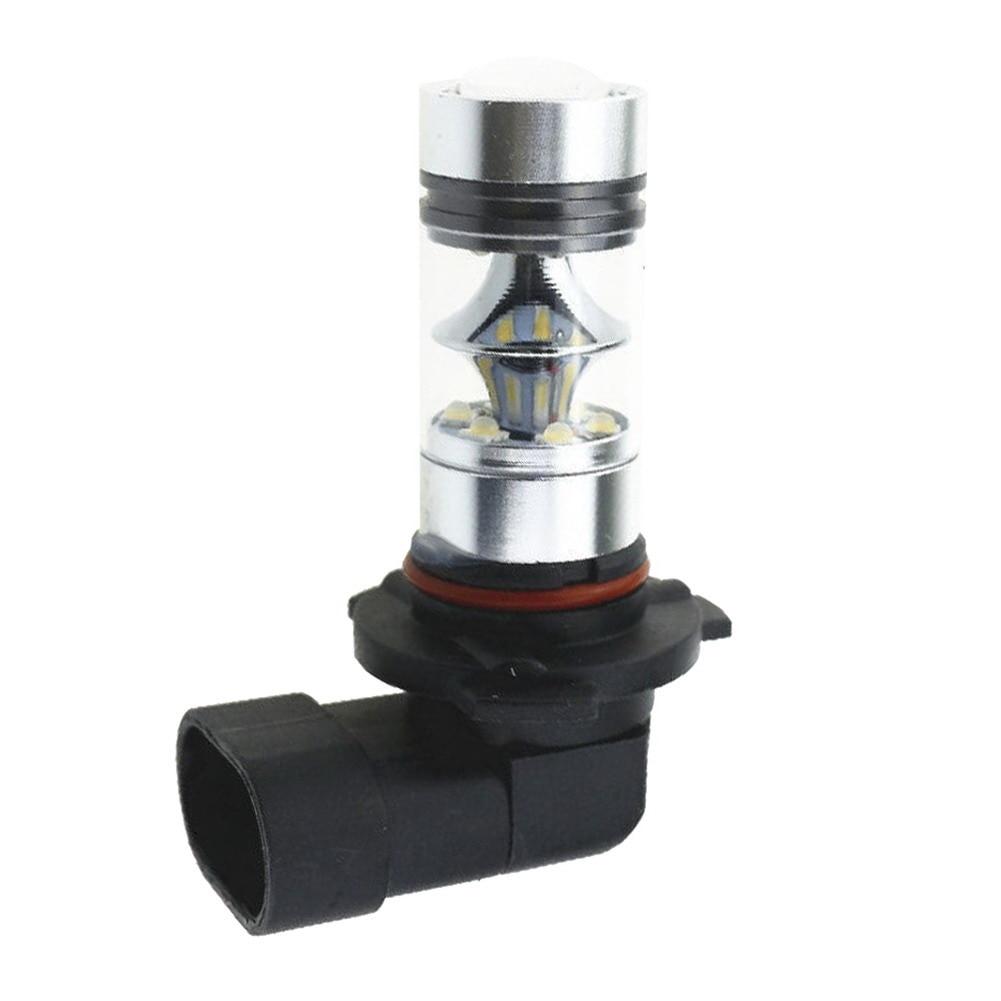 2шт/комплект автомобилей Противотуманные фары 9005 НВ3 6000К Н10 100 Вт светодиодный проектор туман управляя света Лампа автоматический запуск дневной свет Белый