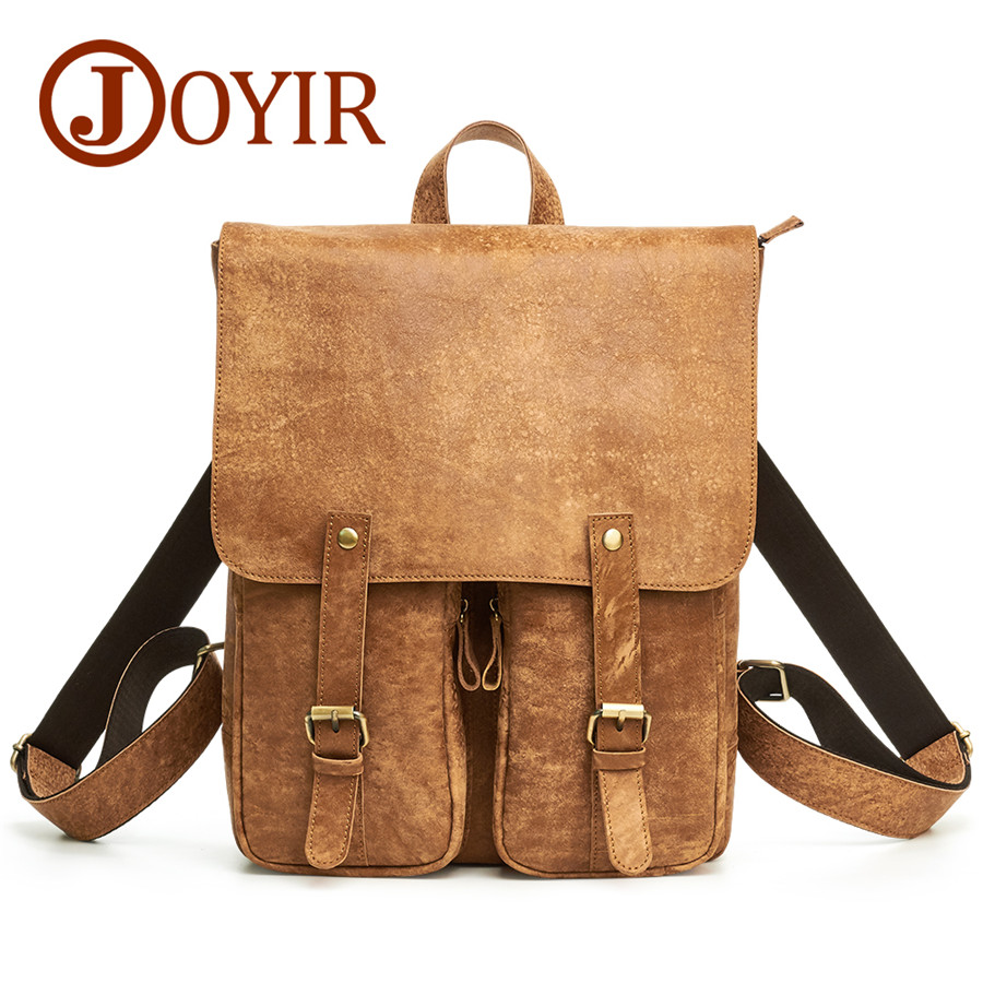 Brand Design men backpack waterproof Genuine leather School Bags for College Students Big Capacity Laptop Backbag male Packsack voyjoy t 530 travel bag backpack men high capacity 15 inch laptop notebook mochila waterproof for school teenagers students