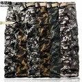 2016 nueva moda de los hombres de carga pantalones de los hombres de calidad superior de algodón Estilo militar del ejército outwear hombre táctico pantalones de Camuflaje más tamaño 28-40
