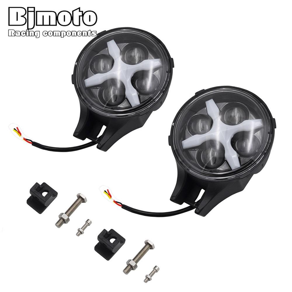 HL-039 6 Car LED Headlight Driving Light 60W 6000K Work Reverse Backup Fog Lamp IP67 Water For Jeep Truck ATV
