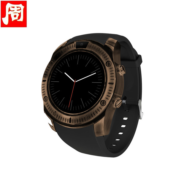 2018 Newest Vintage Bluetooth Wrist Smart Watch KY003 For iPhone Android Phone Support SIM TF Card smartwatch Wristwatch