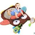 Игрушки для маленьких детей Играть Матс детские Деятельности Коврик Ползать Игра Мягкий Для Младенцев Любовь Милые Может Спать Хлопка Рождество день рождения