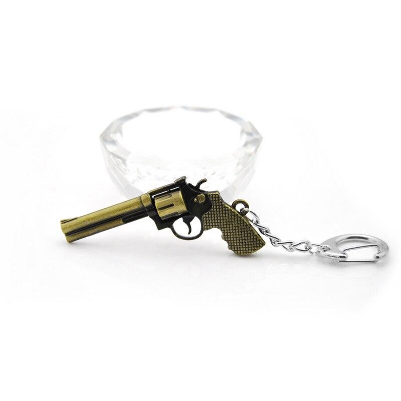 Oryginalna nowa Moda Nowość CS Counter Strike Rewolwer Pistolety Brelok Mężczyźni Bibelot PRZEJŚĆ Awp Karabin Snajperski