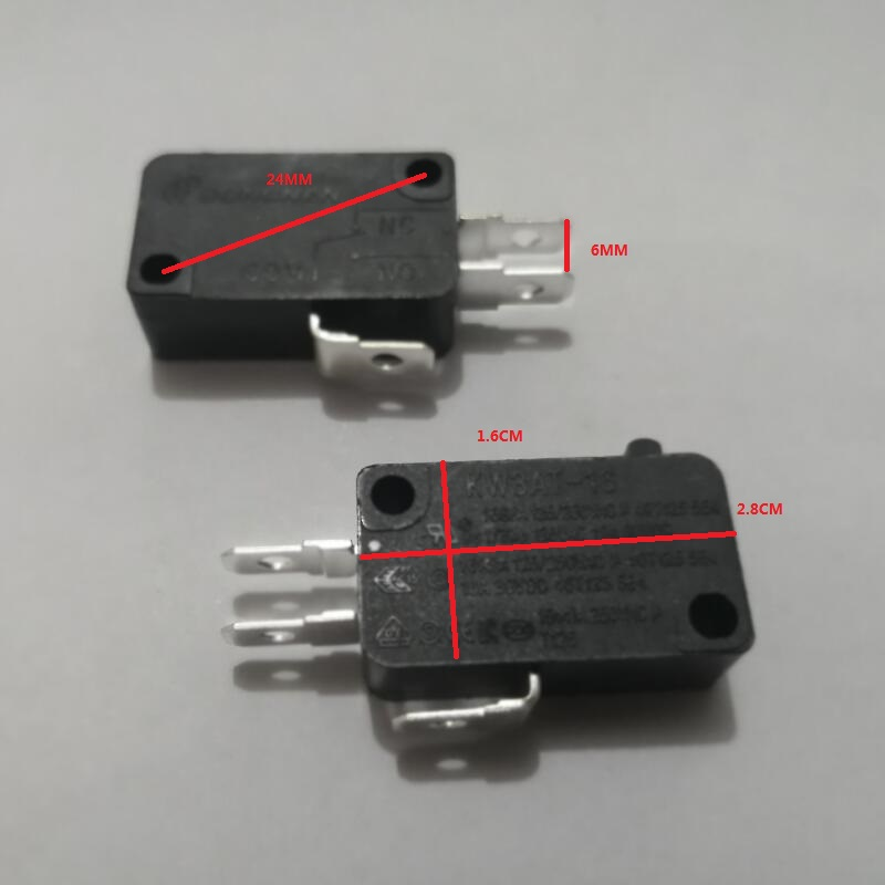 Home Appliances Kitchen Appliance Parts Cheap Sale Large Power Rice Cooker Parts Micro Switch 125v/250v 16a Kw3at-16rice Cooker Parts 40t125 5e4 Elegant In Smell