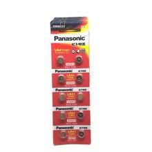 10pcs/lot 100% Original Panasonic LR41 Button Cell Battery SR41 AG3 G3A L736 192 392A Zn/MnO2 1.5V Lithium Coin Batteries LR 41 10pcs lot isl3980irz isl3980iz 3980iz 100% original