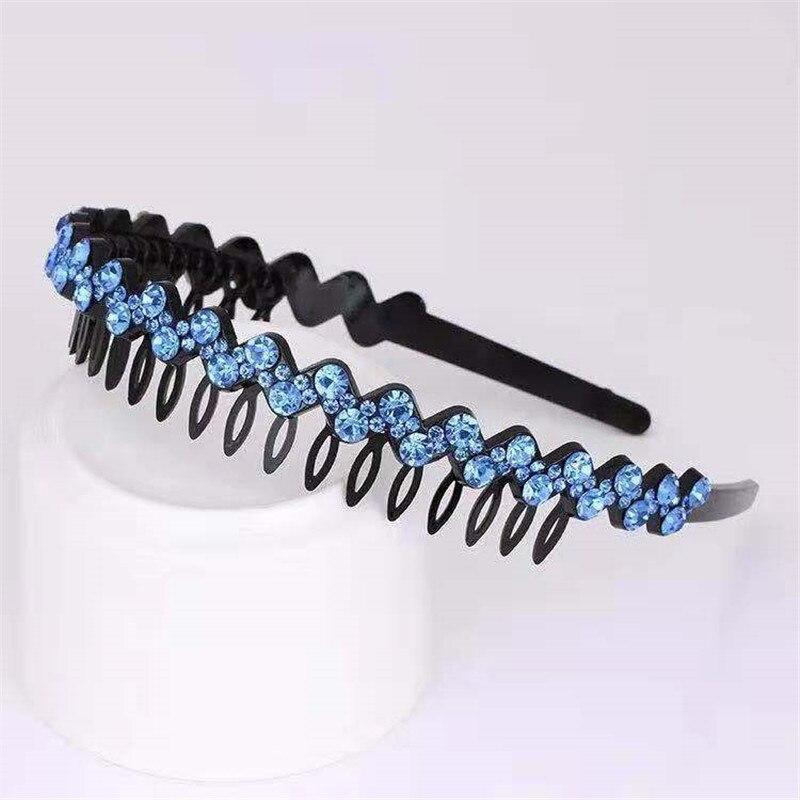 AWAYTR ободок для волос, украшенный кристаллами,, модный головной убор для девушек и женщин, аксессуары для волос ручной работы, головной убор, повязка на голову с жемчужным цветком