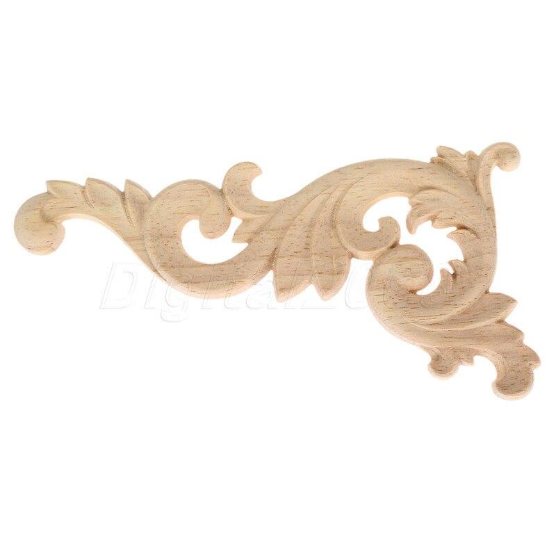 ⑥Madera tallada onlay applique Marcos decorar pared Puertas Muebles ...