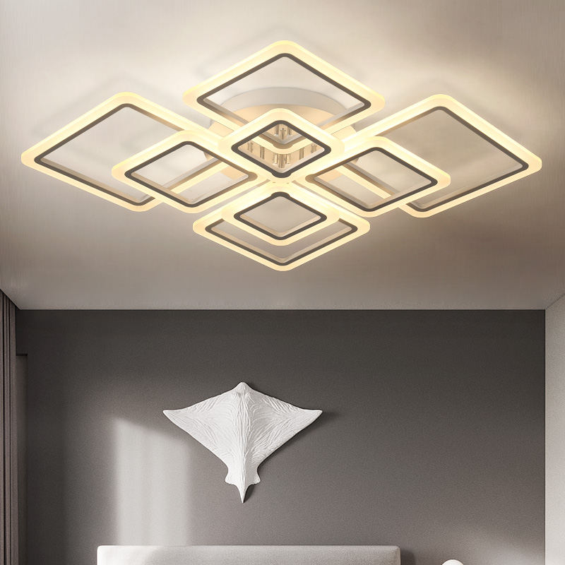 цены modern LED ceiling light remote controlling aluminum ceiling lighting for bedroom/living room indoor ceiling lamp fixture