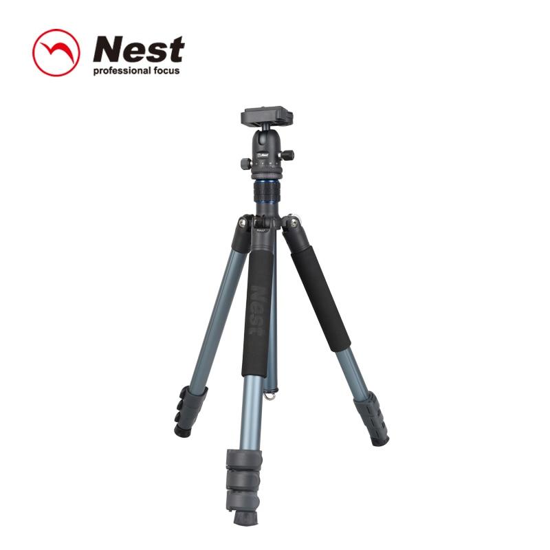 Nest 264K aluminum tripod portable camera stand professional professional SLR camera tripod.free shipping,EU tariff-free vi 264 eu 03