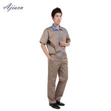Ajiacn Подлинная набор электромагнитного излучения Защитная летняя рабочая одежда с короткими рукавами EMF Защитная Униформа персонала