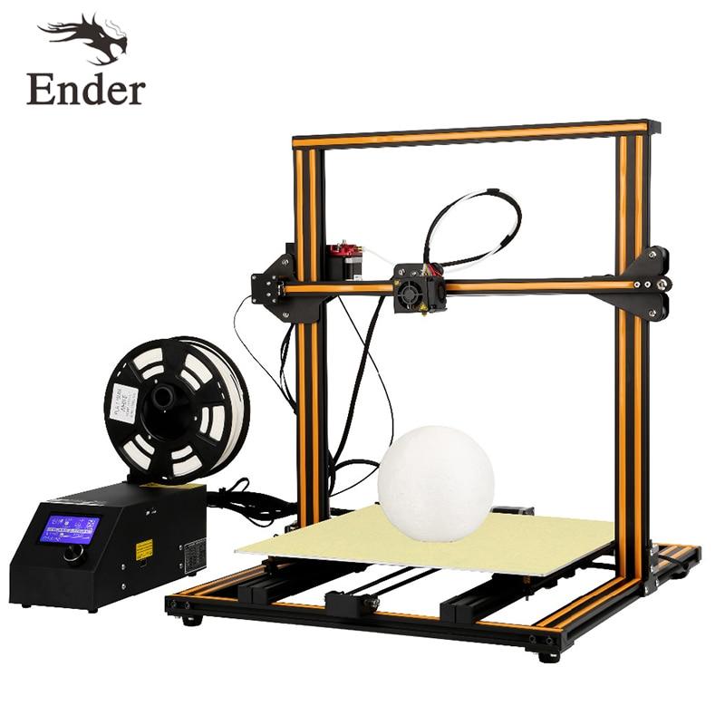 CR 10 S4 3D DIY KIT de impresora de impresión de gran tamaño 400*400*400mm Dual Z Rod alarma de monitoreo de filamentos, crealidad de impresión continua 3D-in Impresoras 3D from Ordenadores y oficina on AliExpress - 11.11_Double 11_Singles' Day 1