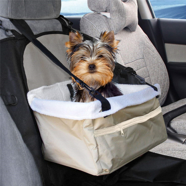 Travel Folding Soft Pet Dog Puppy Cat Kitty Car Seat Booster Seat Carrier Car Leash Bag Pet Supplies 3