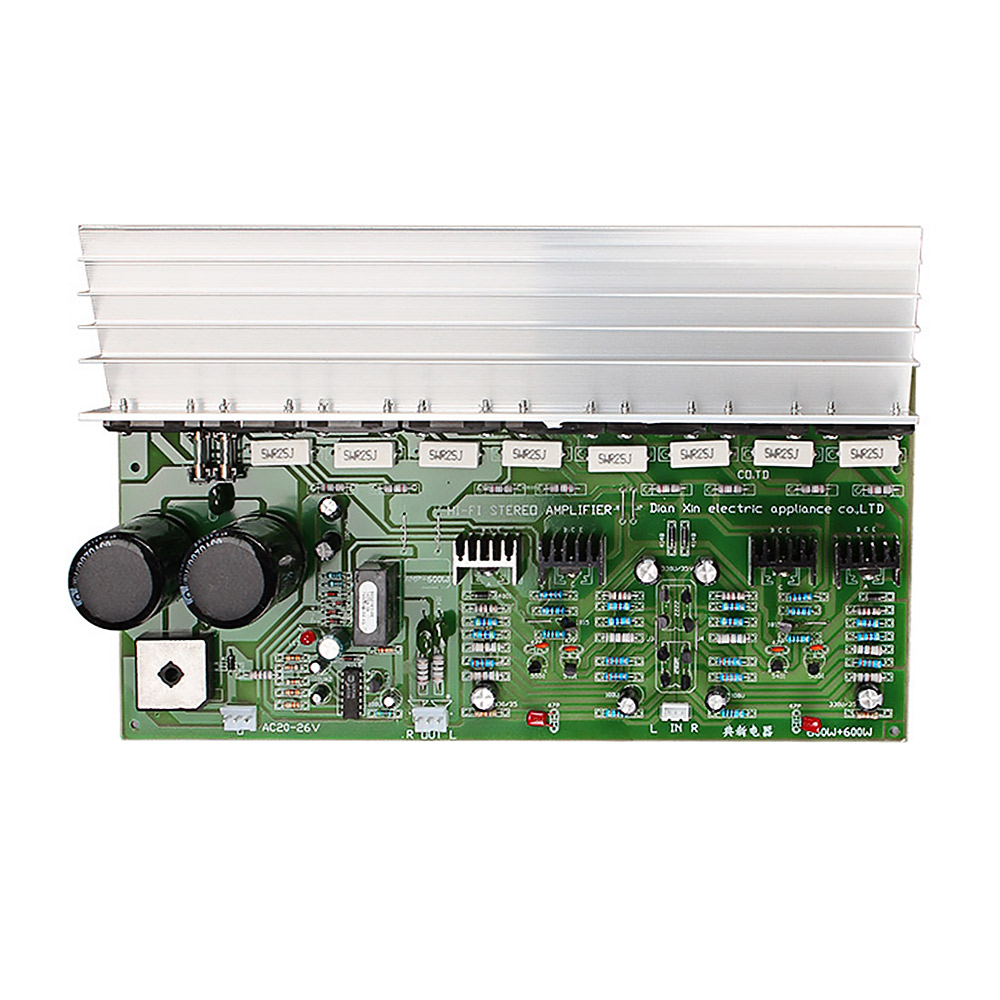 Aiyima 600w Audio Amplifier Board Amp Hifi 20 Stereo Sanken 1494 Discrete Semiconductor Circuits Electronics Textbook 3858 Stage Power High Ac22 28v In From Consumer On