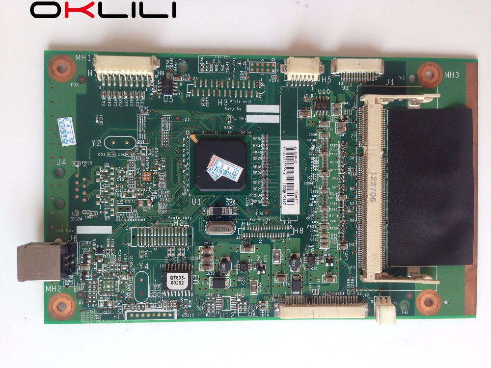 Q7804-69003 Q7804-60001 FORMATTER PCA ASSY Formatter Board Logic Main Mother Board MainBoard For HP 2015 2015D P2015 P2015D