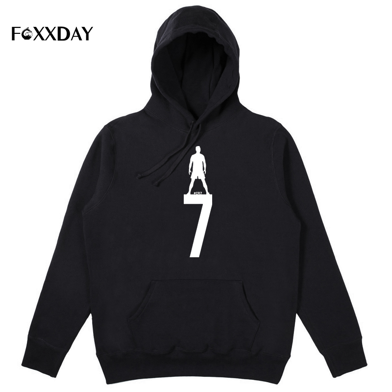 Cristiano Ronaldo 7 Cotton Hoodie Men and Women Long Sleeve O Neck Cr7 Hoodies Sweatshirts Pop Pullover Winter Men Hooded