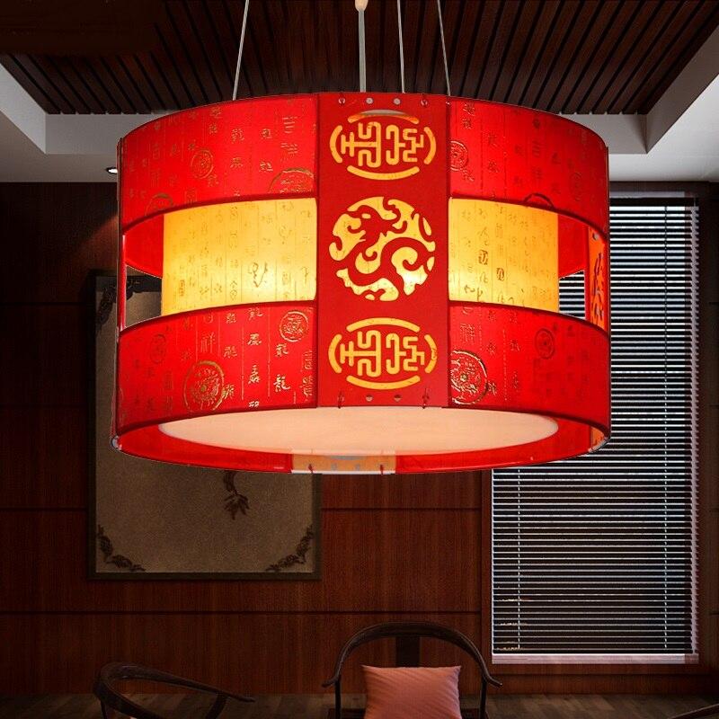 Slaapkamer Rood Zwart.Us 148 0 Chinese Klassieke Hanglamp Antieke Hotel Kinderen Kamer Slaapkamer Lamp Woonkamer Rood Zwart Ronde Houten Hanger Lamp Zs39 In Hanglampen