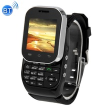 KEN XIN DA W1 Slide-out Clavier Smart Montre Téléphone QCIF Tactile Support D'écran Dual SIM Bluetooth FM Radio MP4 GSM