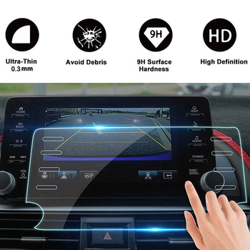 8 Inch 8 Holes Car DVD Navigation Tempered Glass Screen Protector Fits For Honda Accord 2018 Display Film GPS Protective Sticker image