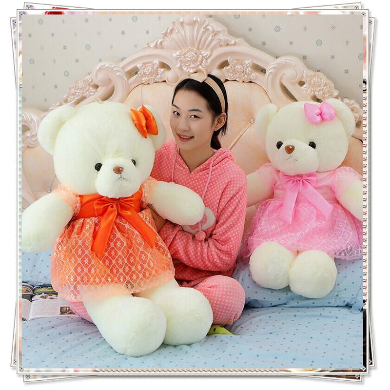 Life size teddy bear ty beanie boos giant stuffed bear soft toys for bouquets plush toys valentine day birthday gifts kids toys картридж nv print 006r01273 для xerox workcentre 7132 7232 7242 голубой 8000стр