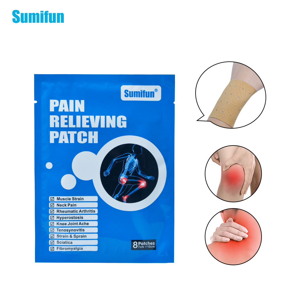 24Pcs Chinese Medical Herbal Pain Relief Plaster Orthopedic Plasters Analgesic Patches Health Care Body Massager D0661