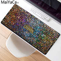 MaiYaCa League of legends Mouse Pad Locked Edge Pad to Mouse Notbook Computer Mousepad 90x30cm Gaming Padmouse Gamer Best Seller