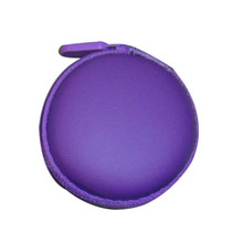 D 5 High Cost Effective Colourful Portable Mini Round Hard Storage Case Bag for Earphone Headphone