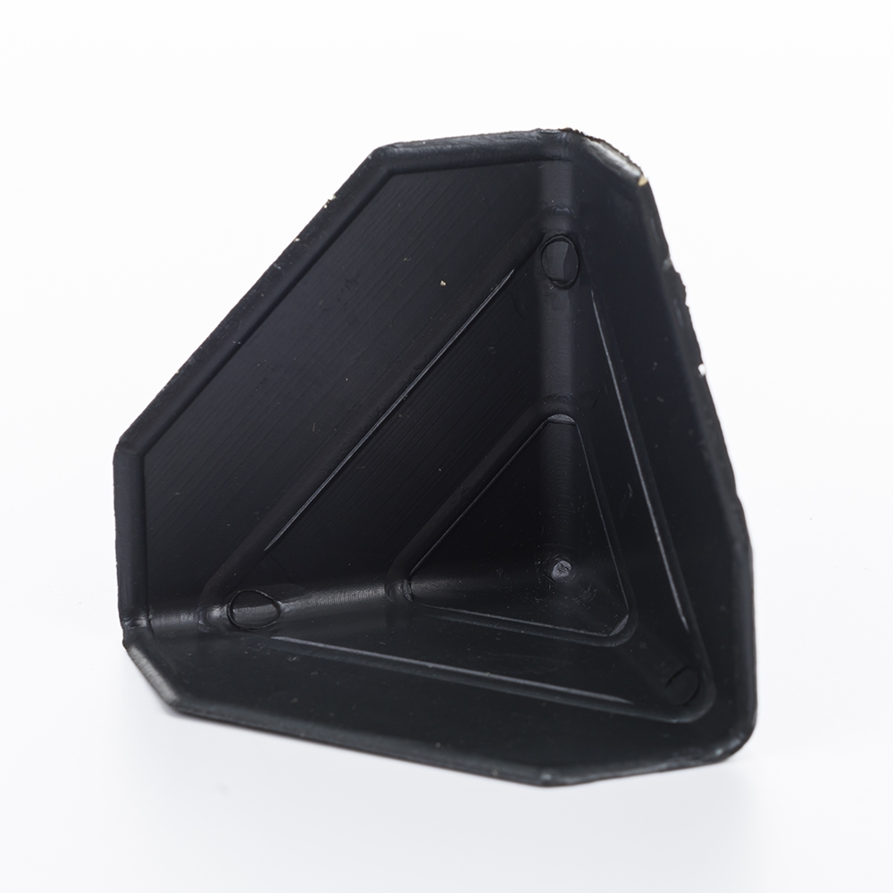 Free Shipping 60*60*60*1mm size Black Plastic Packing Corner Protector Shipping Edge Cover Package Corner Guard