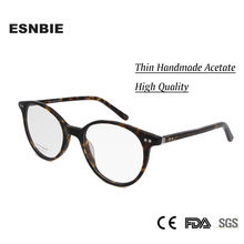 цены на 2017 Retro Designer Acetate Round Glasses Women Frame Men Clear Lens Unisex Vintage Eyeglasses Black Tortoise 6662 в интернет-магазинах