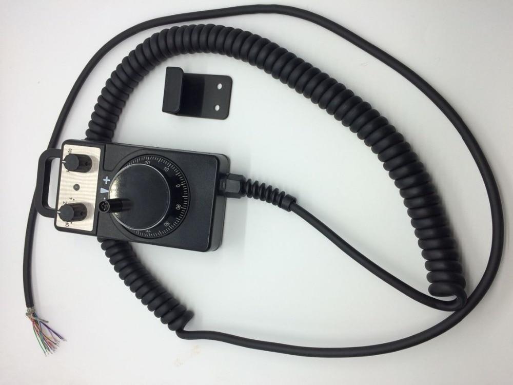 Elektronische Handwiel CNC Router Handwiel Pulse Encoder 5 V 100PPR Voor CNC machine handwiel fabriek groothandel - 4