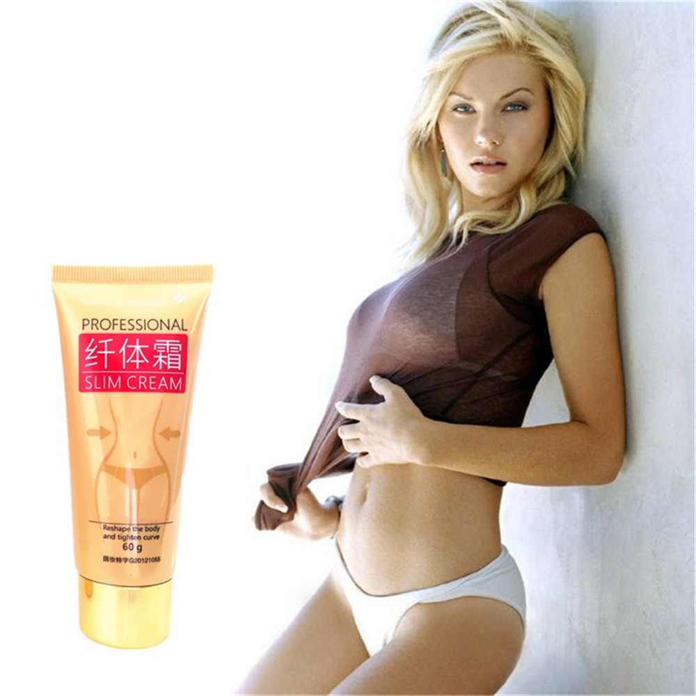 New Anti Cellulite Slimming Body Cream Ginger Stubborn Fat Burn Potent Lose Weight Burning Fat Cream Lift Firming Oil 60g