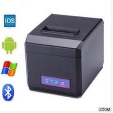 80mm pos impresora térmica de recibos pos impresora con USB + LAN + RS32 80 controlador de impresora térmica/POS impresora pos80300