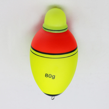 80g/100g EVA float electronic double swaps helped LED lamp light bleaching reed sea float