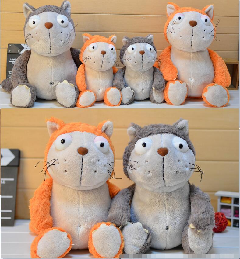 Candice guo NICI plush toy stuffed doll cute cartoon animal little cat kitty comic cats kitten bedtime story birthday gift 1pc candice guo plush toy stuffed doll cartoon animal little sheep cute lamb soft pillow cushion birthday gift christmas present 1pc