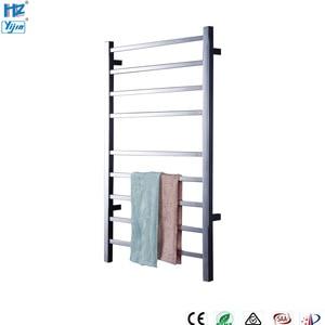 Image 5 - Yijin HZ 919A Wall Mounted Style Towel Warmer Electric Heated Towel Rail Bathroom Towel Shelf Towel Holder Rack Stainless Steel